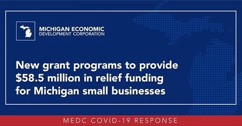 MI grants: Shuttered Stages; Small Business Relief OPEN