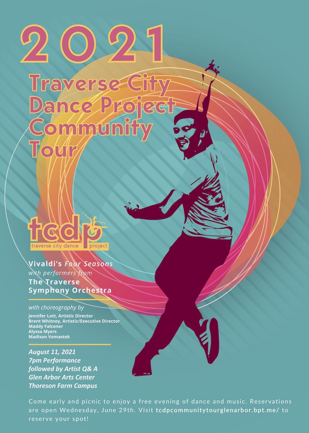 Traverse City Dance Project Announces Summer '21 Tour
